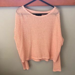 PERFECT CONDITION Peach Sweater